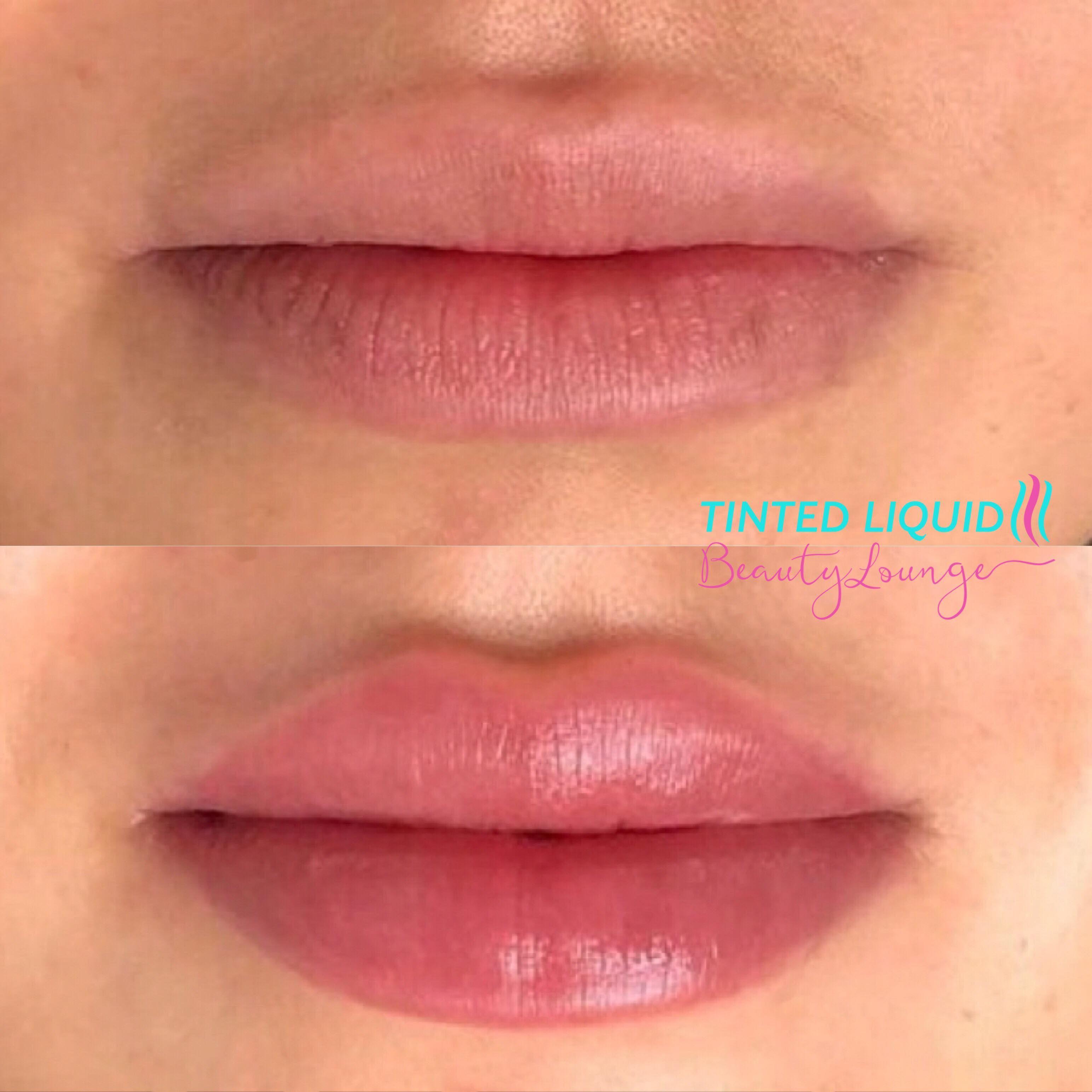 Lip blush tattoo in 2020 lips lip tint lip tattoos