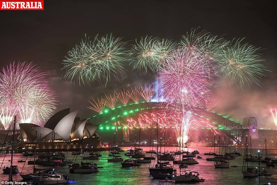 People across the globe celebrate New Year's Eve 2019 in