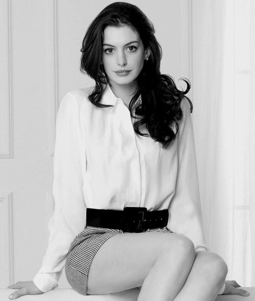 "I admired her since ""The princess Diaries"" My faves movies from her are The Devils wore Prada, Love and other Drugs, Les Miserables, and Bride Wars."