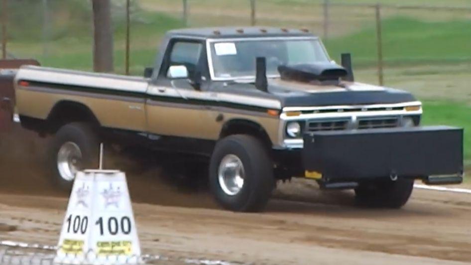 Pin By Thomas Brady On Pulling Trucks Truck Pulls Ford Trucks