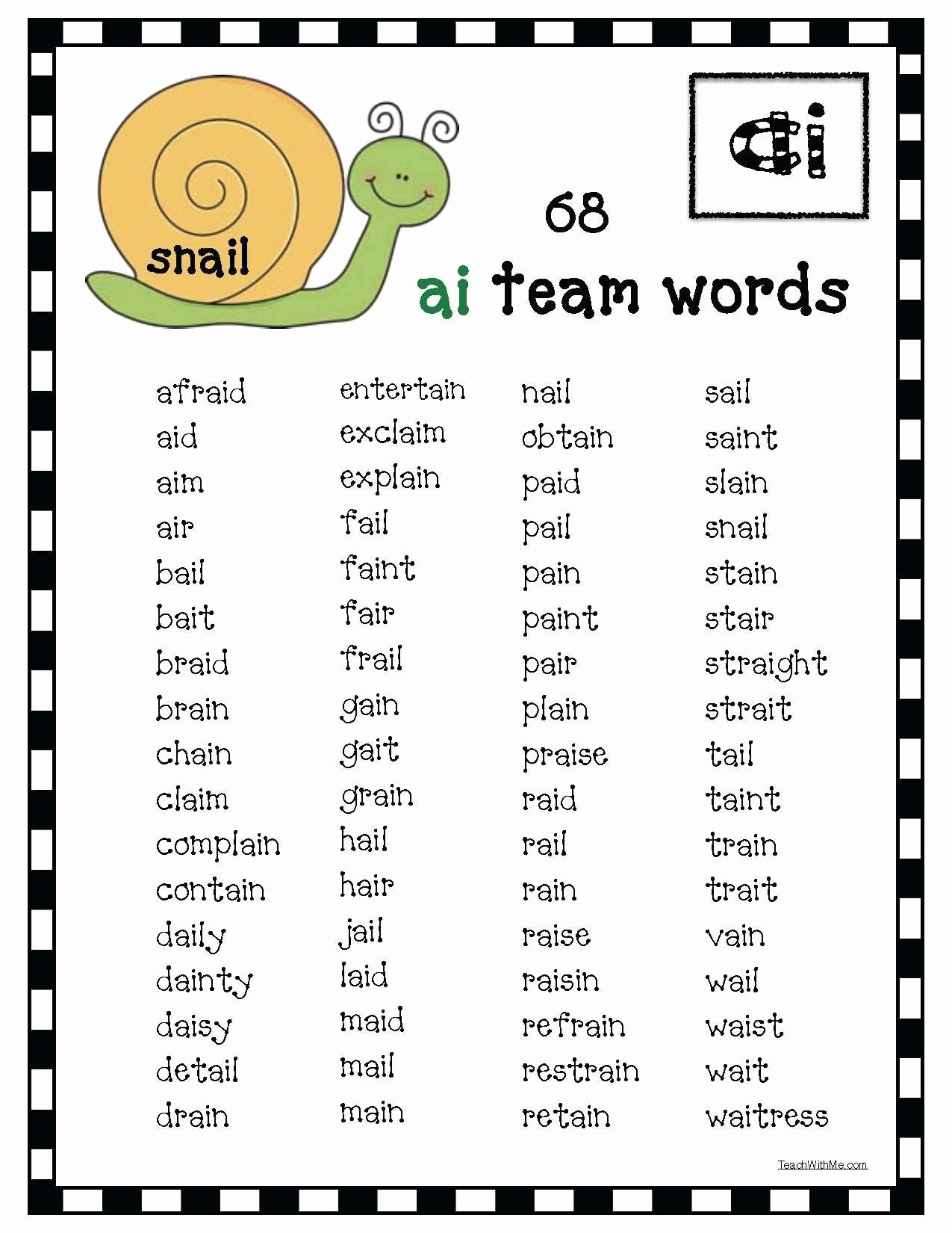 Two Vowels Go Walking Worksheet Fresh When 2 Vowels Go Walking The 1st E Does The Talking Phonics Vowel Team Words Vowel [ 1650 x 1275 Pixel ]