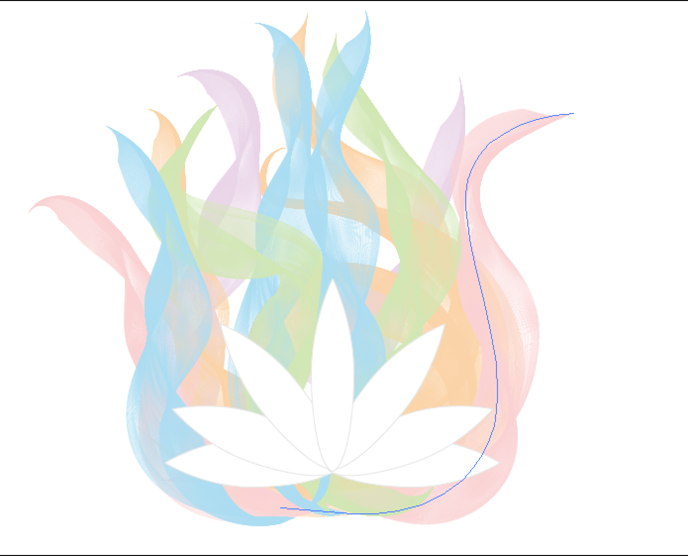 An attempt at making smoke like waves coloured according to briefs an attempt at making smoke like waves coloured according to briefs preferred ones and with a simple lotus in front design brief project izmirmasajfo