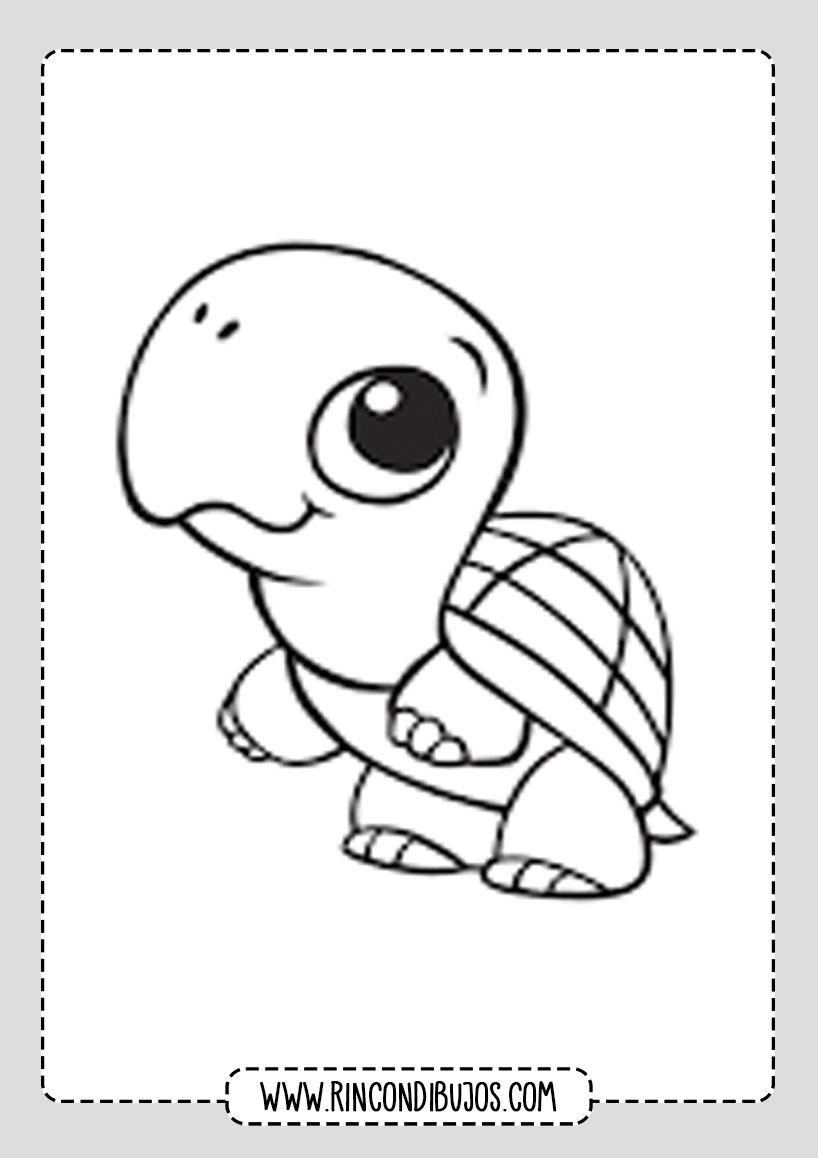 Laminas Tortugas Colorear Rincon Dibujos Animalitos Para Colorear Tortuga Para Colorear Dibujo De Tortuga