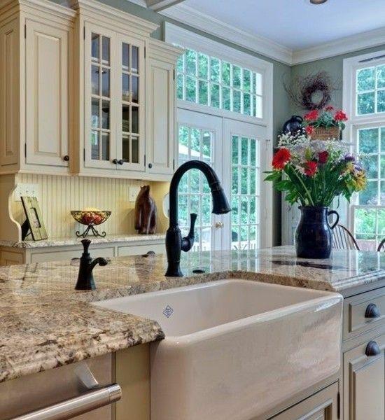 moderne-küche-einrichten-küchenspüle-becken | Küche | Pinterest ...