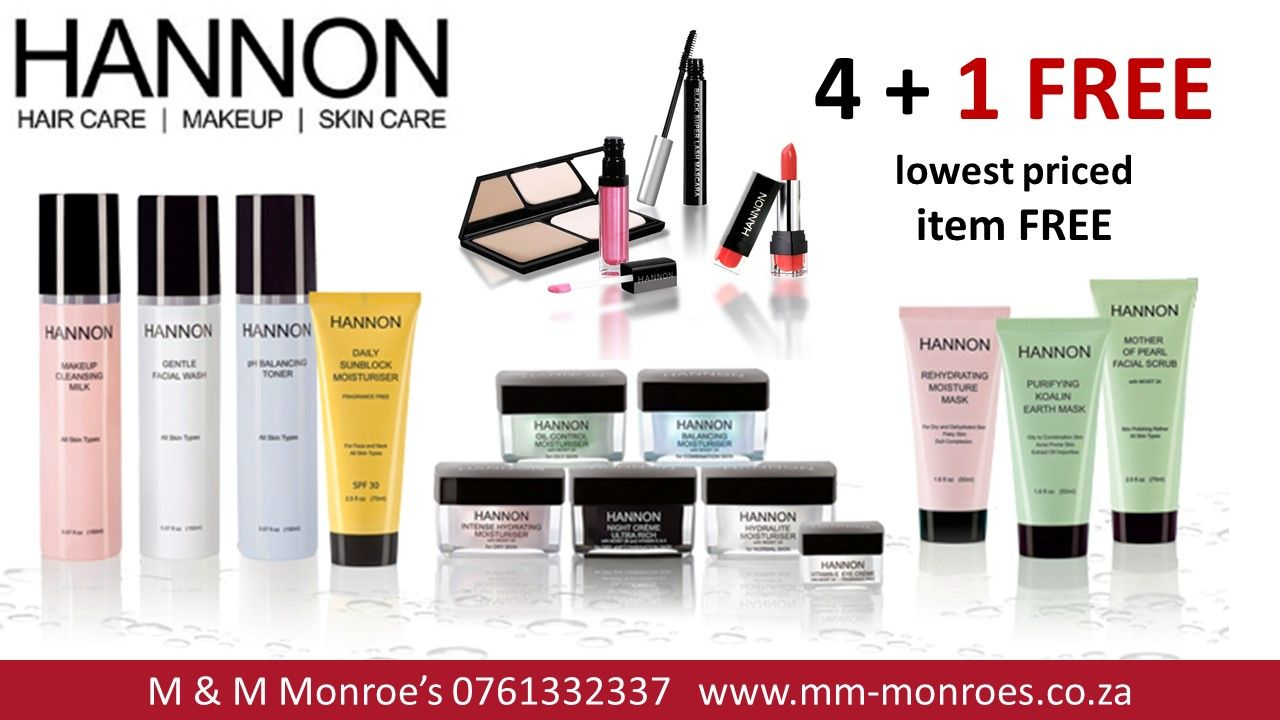 Buy 5 Hannon Products And Get The Lowest Priced Item Free At M M Monroe S Brentwood Park Mall Cnr Great Hair And Nail Salon Nail Salon Supplies Nail Supply