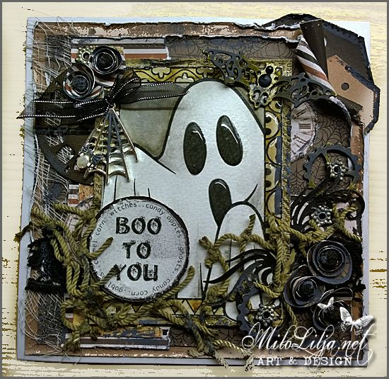 Milo Lilja - Art  Design   miloliljanet Halloween cards - halloween design