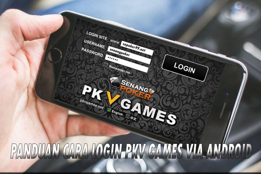 Mahkotabet ~ Panduan cara login PKV Games via android