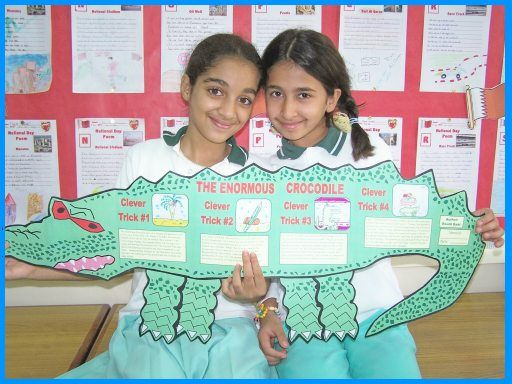 Enormous Crocodile project