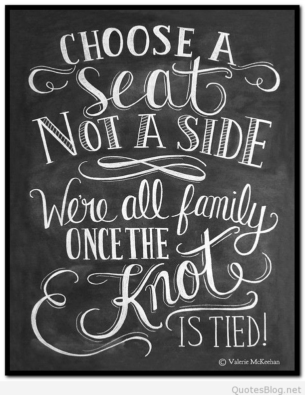 Choose A Seat Not Side Wedding Ceremony Signswedding