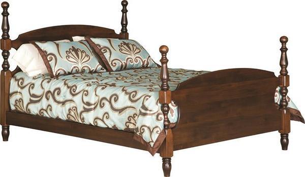 Amish Harvest Bed Bed Bed Design King Poster Bed