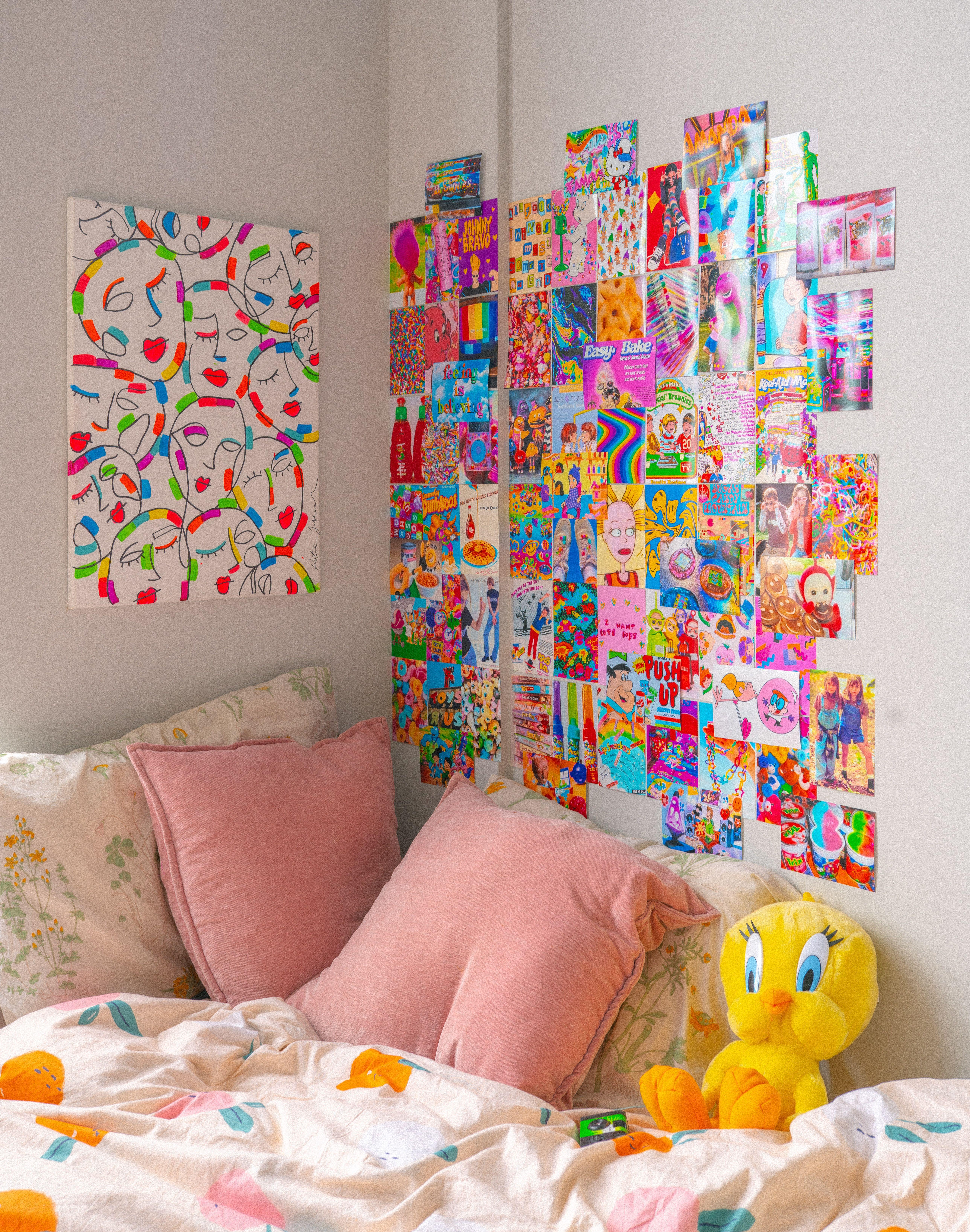 Instant Digital Download 65 Pcs Bad N Boujee Pink Y2k Vsco Etsy In 2021 Vintage Room Decor Neon Room Retro Room