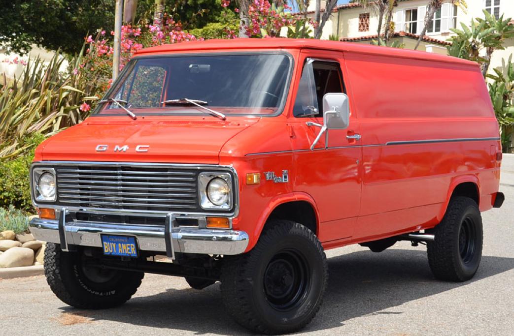77 Gmc Vandura 35 Pathfinder 4x4 Gmc Vans 4x4 Van Chevy Van