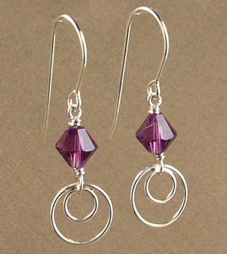 Simply Modern Amethyst Earrings Jewelry Design Ideas Details Can Be Found By Clicking On The Image