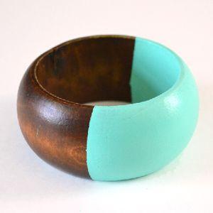 DIY Color Block Bangle