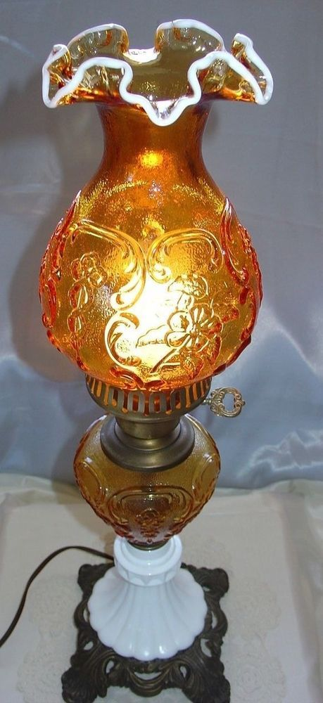 Fenton Quot Vintage 1940s Quot Glass Quot Scarce Quot Golden Amber Snow Crest
