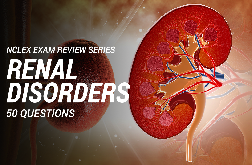Quiz #1: Urinary System Disorders NCLEX-RN Practice Exam (50 Questions)