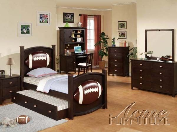Great Football Youth Bedroom Set