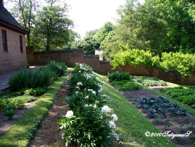 Amazing MySecretGarden: Colonial Gardens. Part 3   Williamsburg