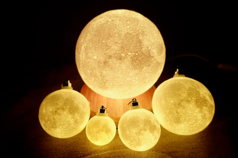 Progressive Detail Moon Lamp In 2020 Lamp Progress Moon