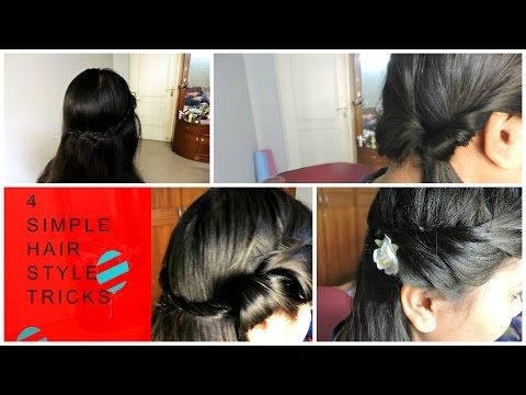 Easy Hairstyles For Thin Hair Youtube Easy Hairstyles Hair Styles Long Fine Hair