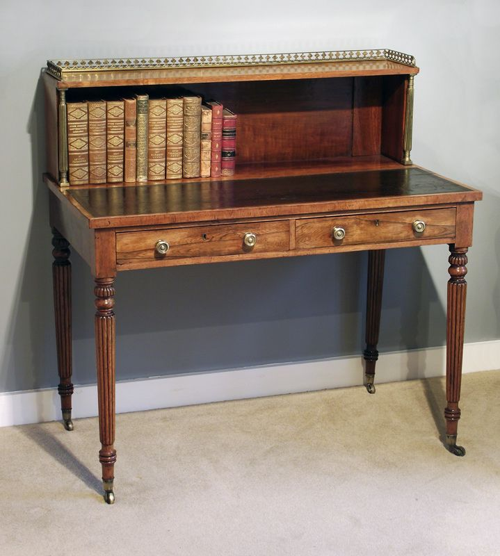 Antique Ladies Writing Desk | ... ladies writing table : Antique Bureau -  Antique - Antique Rosewood Bonheur Du Jour Bonheur, Antique Furniture And