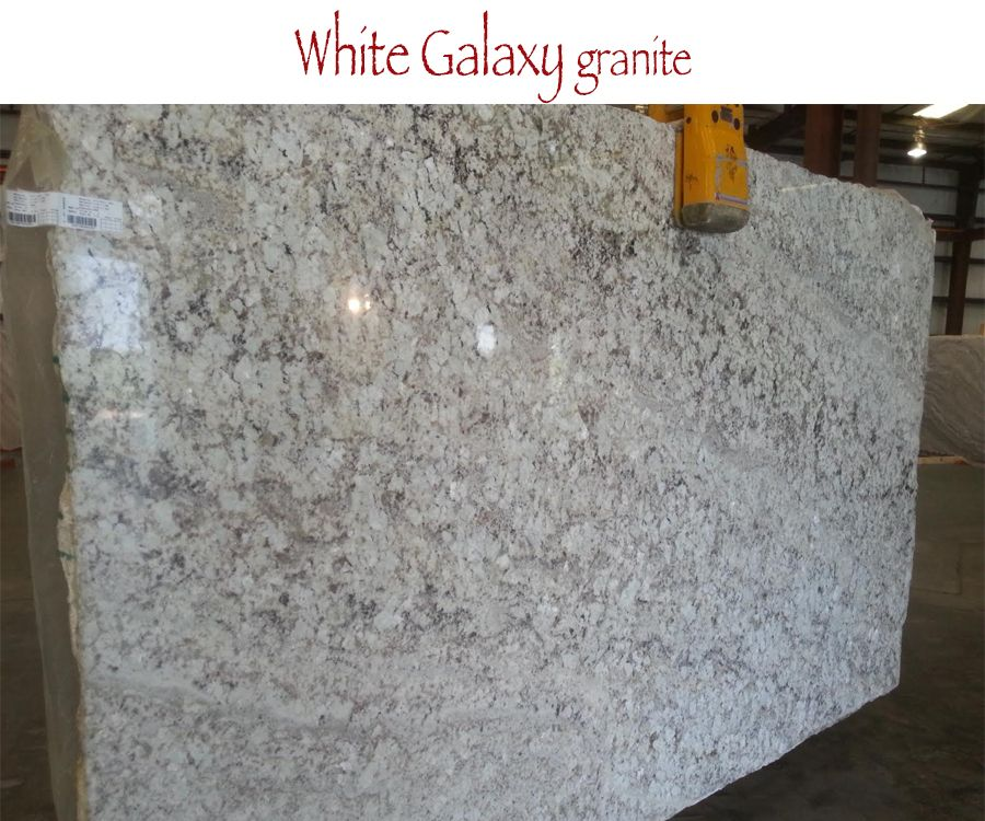 White Galaxy Granite For Kitchen And Bathroom Countertops At