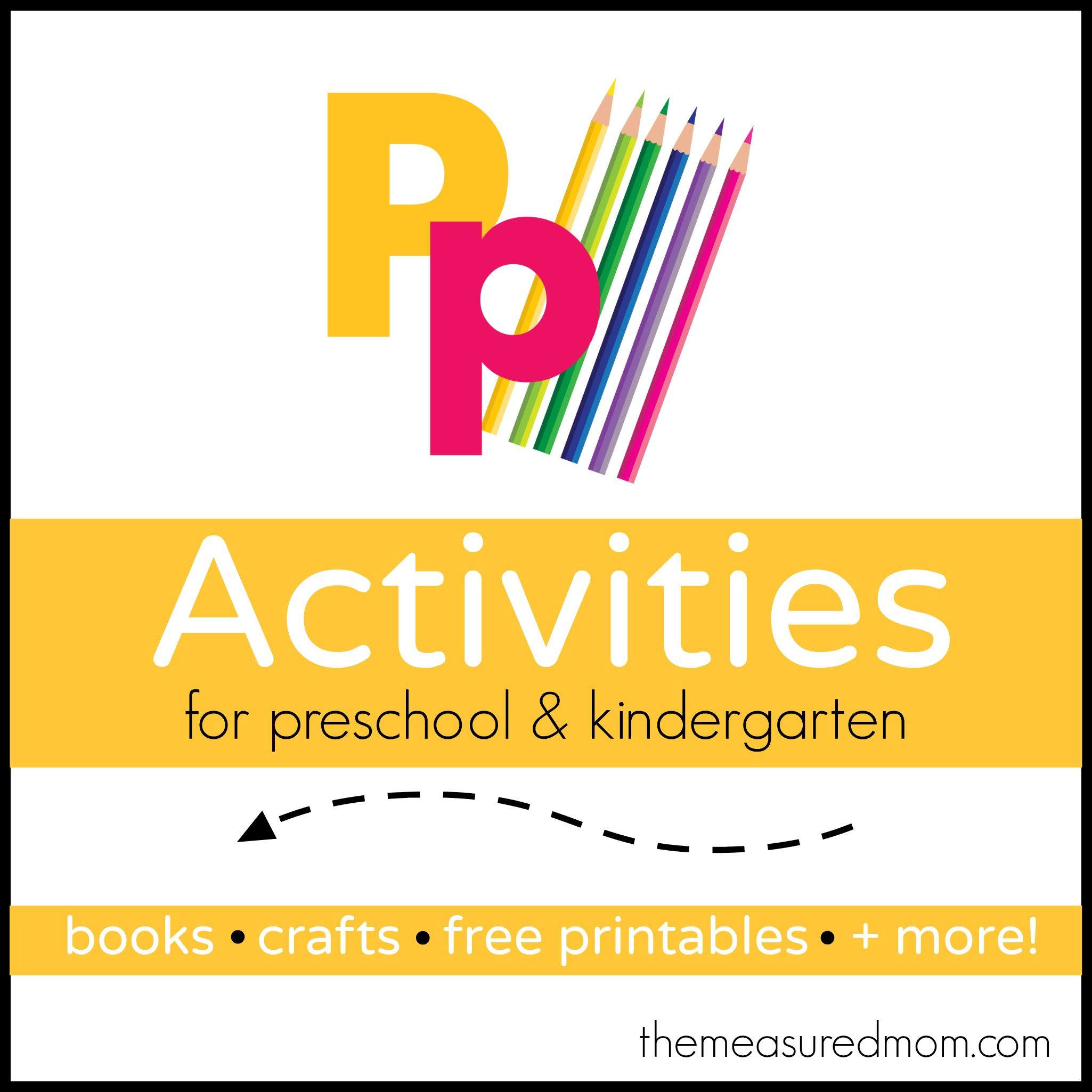 Letter P Activities With Images