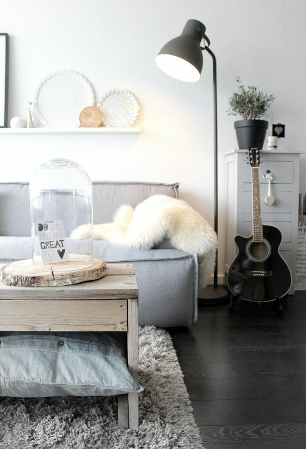 50 Helle Wohnzimmereinrichtung Ideen im urbanen Stil | Home ...