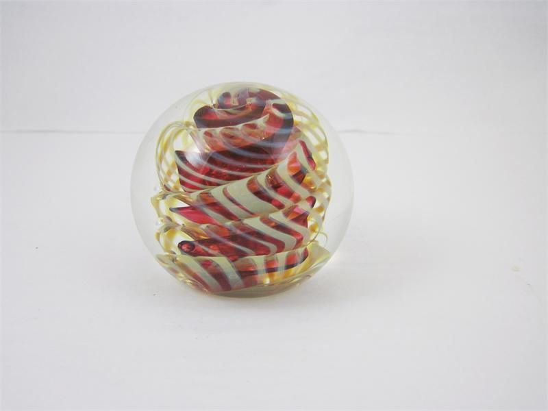 Rollin Karg Glass   rollin karg red wrapped inclusion sculpture previous in rollin karg ...
