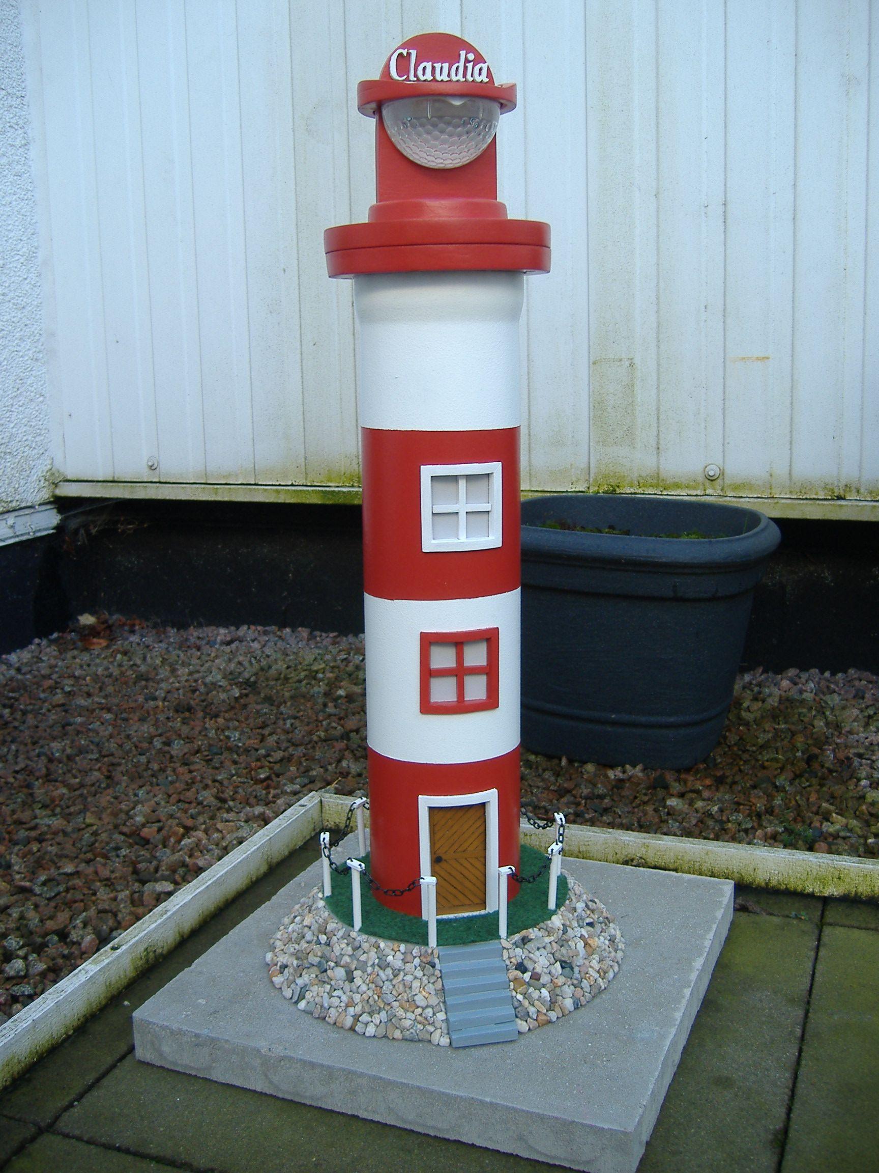 Inspirierend Leuchtturm Aus Holz Selber Bauen Schema