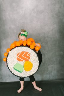 DIY Halloween Costume: Sushi Roll | Photos - Style Me Pretty