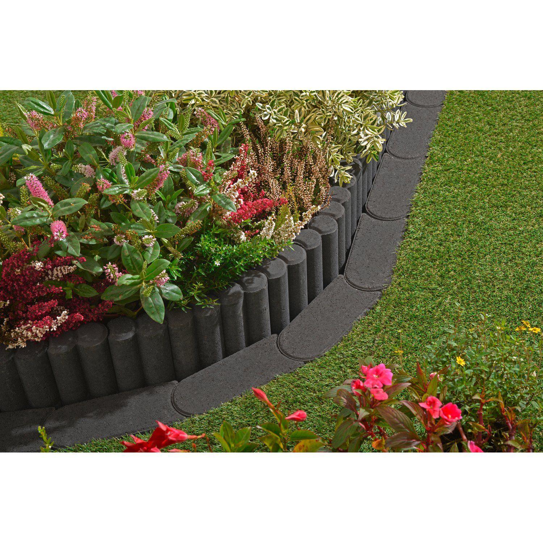 Kann Mahkante Mini Anthrazit 24 Cm X 10 Cm X 4 5 Cm Kaufen Bei Obi Garten Gestalten Rasenkanten Garten