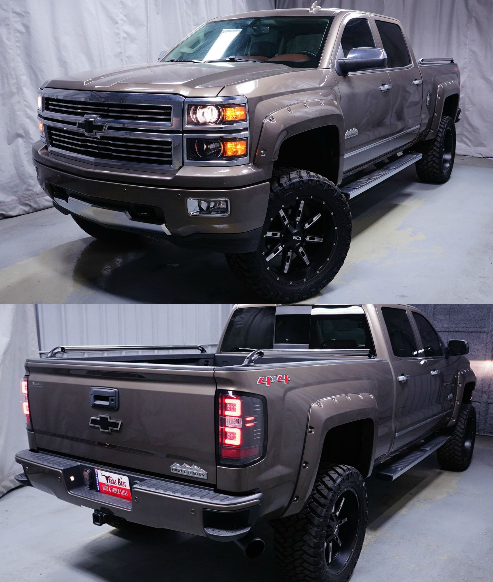 New Inventory Daily Customlifted 2015 Chevrolet Silverado 1500 Highcountry For Sale Fincher S Texas Bes Chevrolet Silverado Truck Accessories Trucks