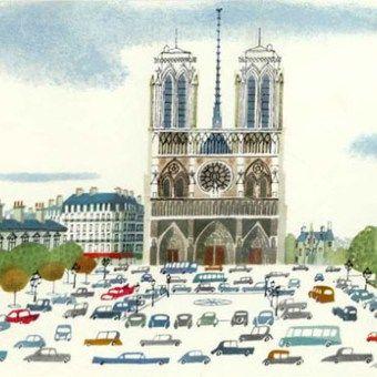 Quién:Miroslav Sasek. Por qué: Su libro 'This is Paris', esto es Paris, en el que muestra con su propio estilo la ciudad francesa. Categoría: Ilustración, libros. Más:www.miroslavsase…