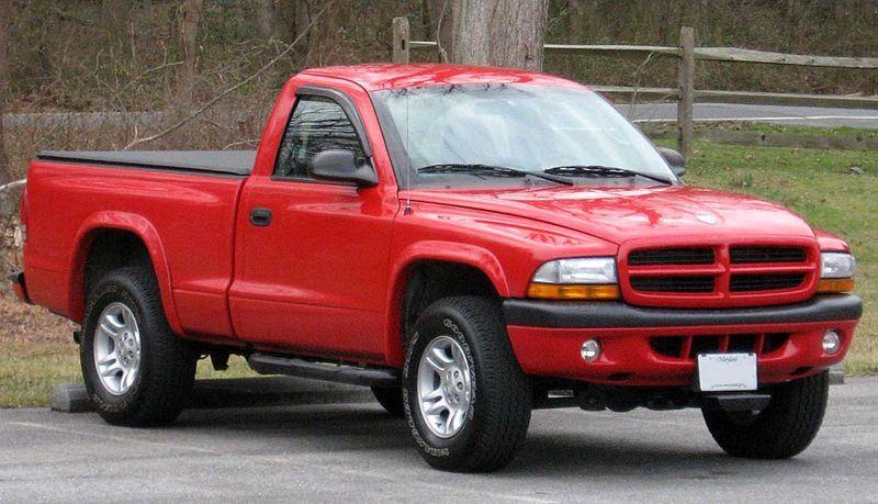 I love my 1998 Red Dakota Pickup. It has fuzzy dice