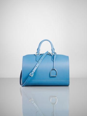 Vachetta Stirrup Boston Bag - Ralph Lauren Ralph Lauren Handbags - RalphLauren.com