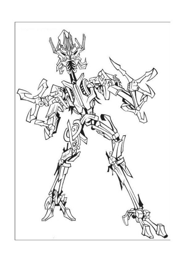Dibujos para Colorear Transformers 8 | Dibujos para colorear para ...