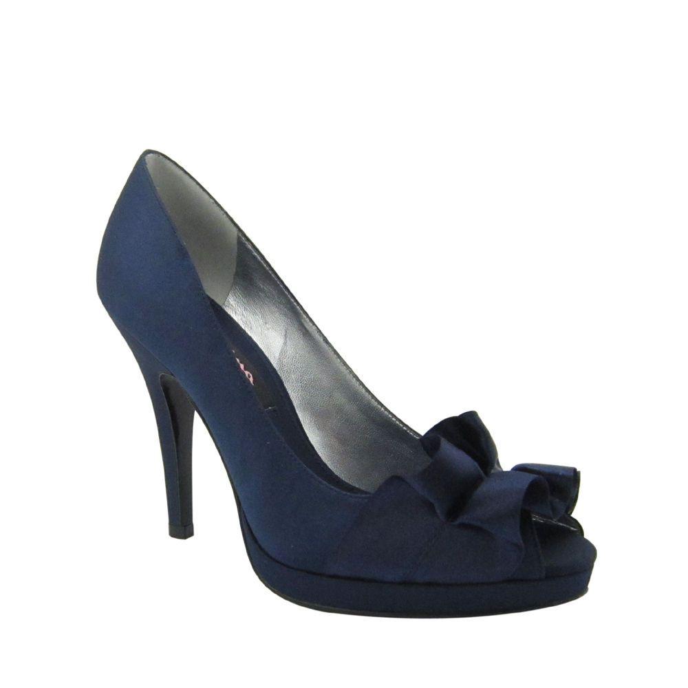 Nina Wedding Shoes | Navy wedding shoes