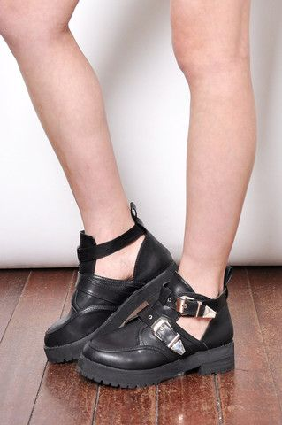 Cut Out Boots BACKORDER