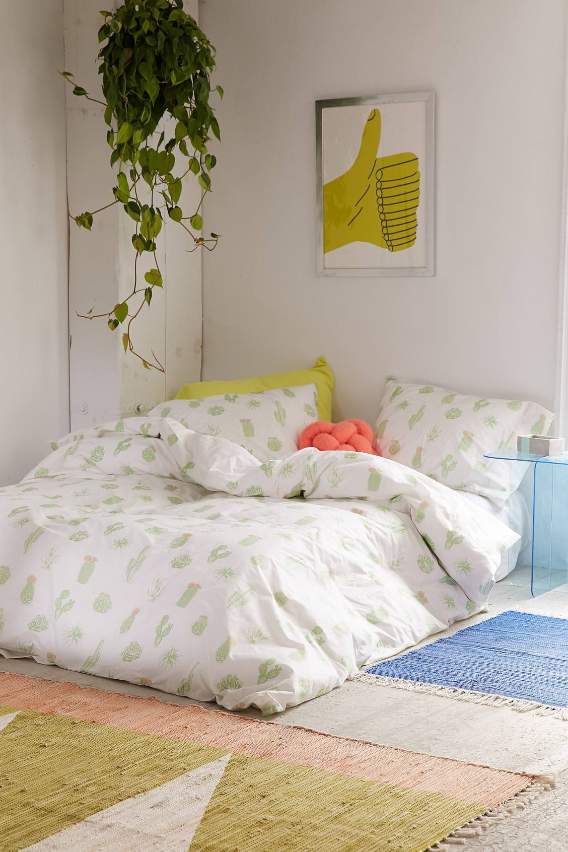 Cactus icon duvet cover ideas para habitaciones for Decoracion hogar habitaciones