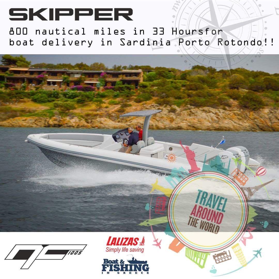 Delivery Skipper Nc 100s Final Destination Sardinia Porto Rotondo