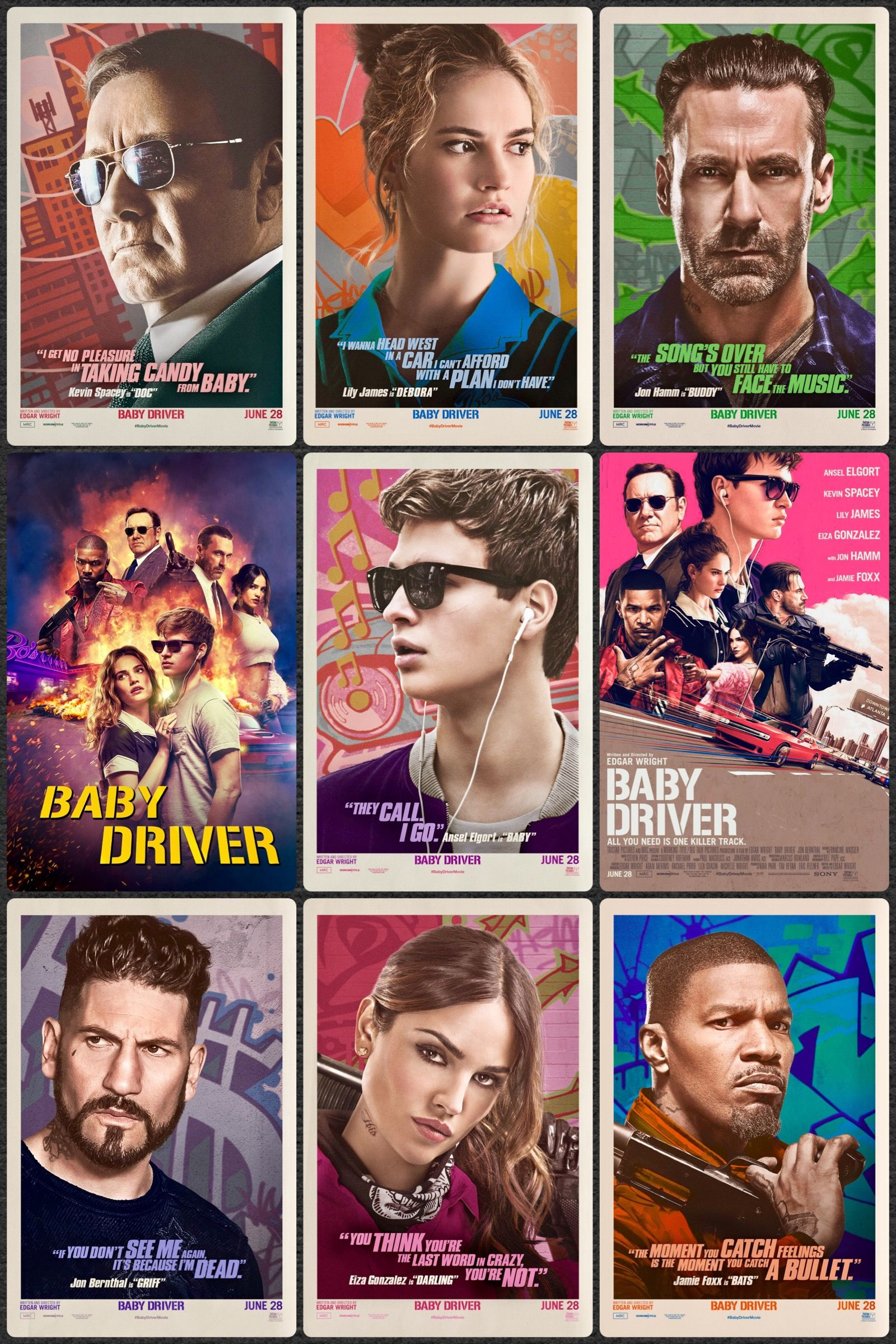 Baby Driver Filmes