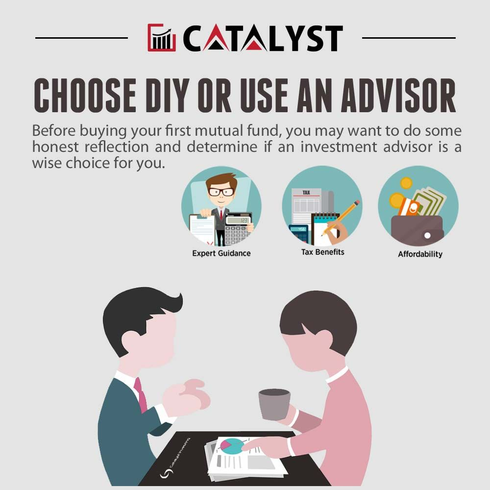 Choose DIY or Use an Advisor Investment advisor, Investing