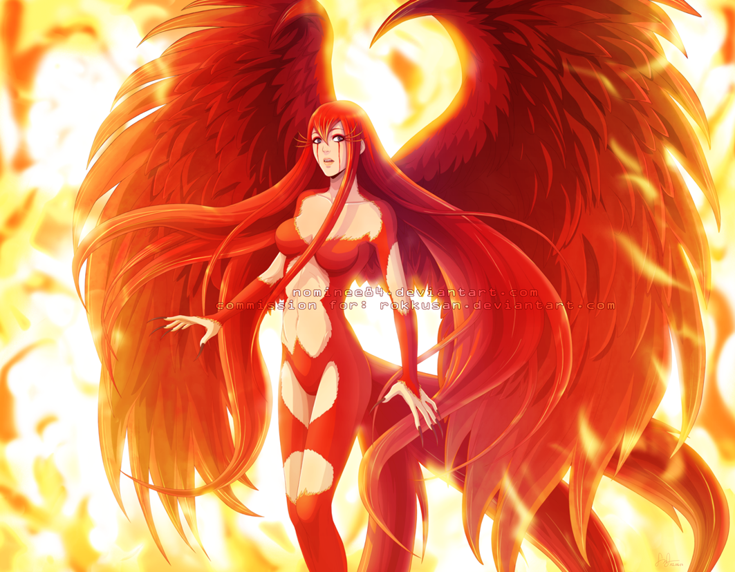 The Hair The Wings Phoenix Phoenixanime Anime Animedrawing