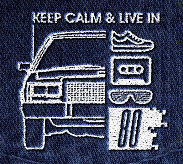 keek calm and live in 80s