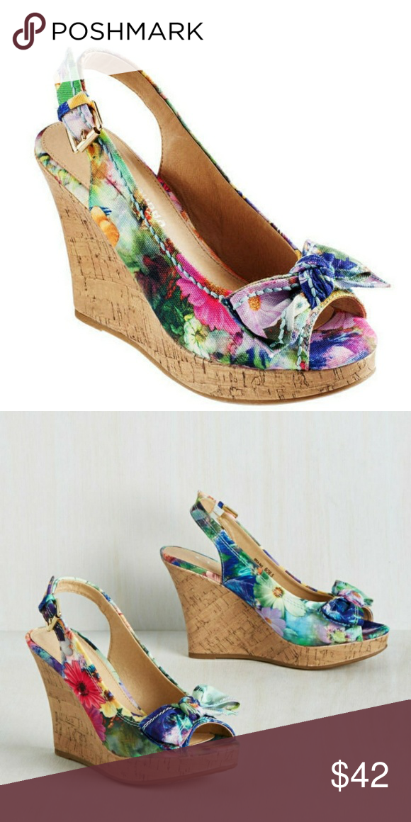 Size 11 Cl By Chinese Laundry Ilissa Wedges Nwt Fashion