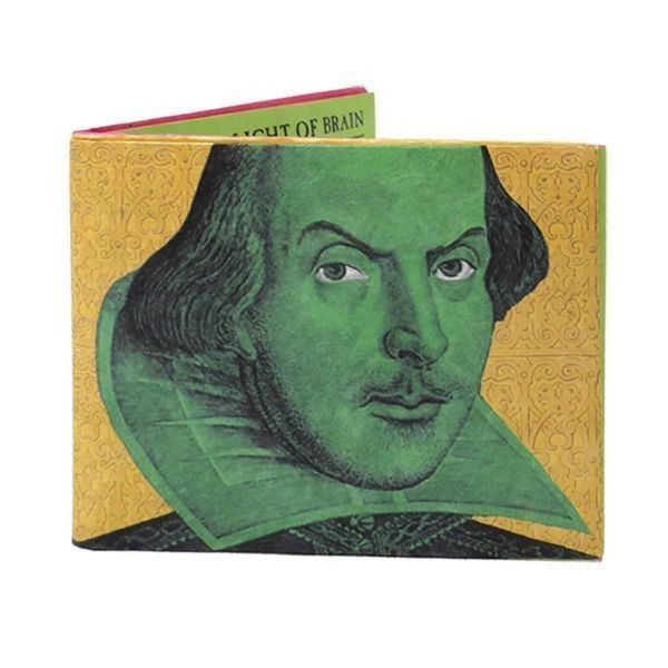 Shakespearean Insult Audible Tyvek Wallet - Light Sensitive Smart Wallet #UnemployedPhilosophersGuild #Bifold