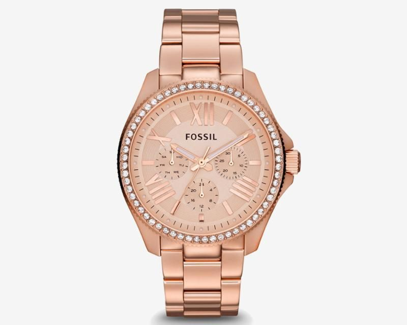 e8005a07da97 Reloj Fossil AM4483 Color Oro Rosado 7137163