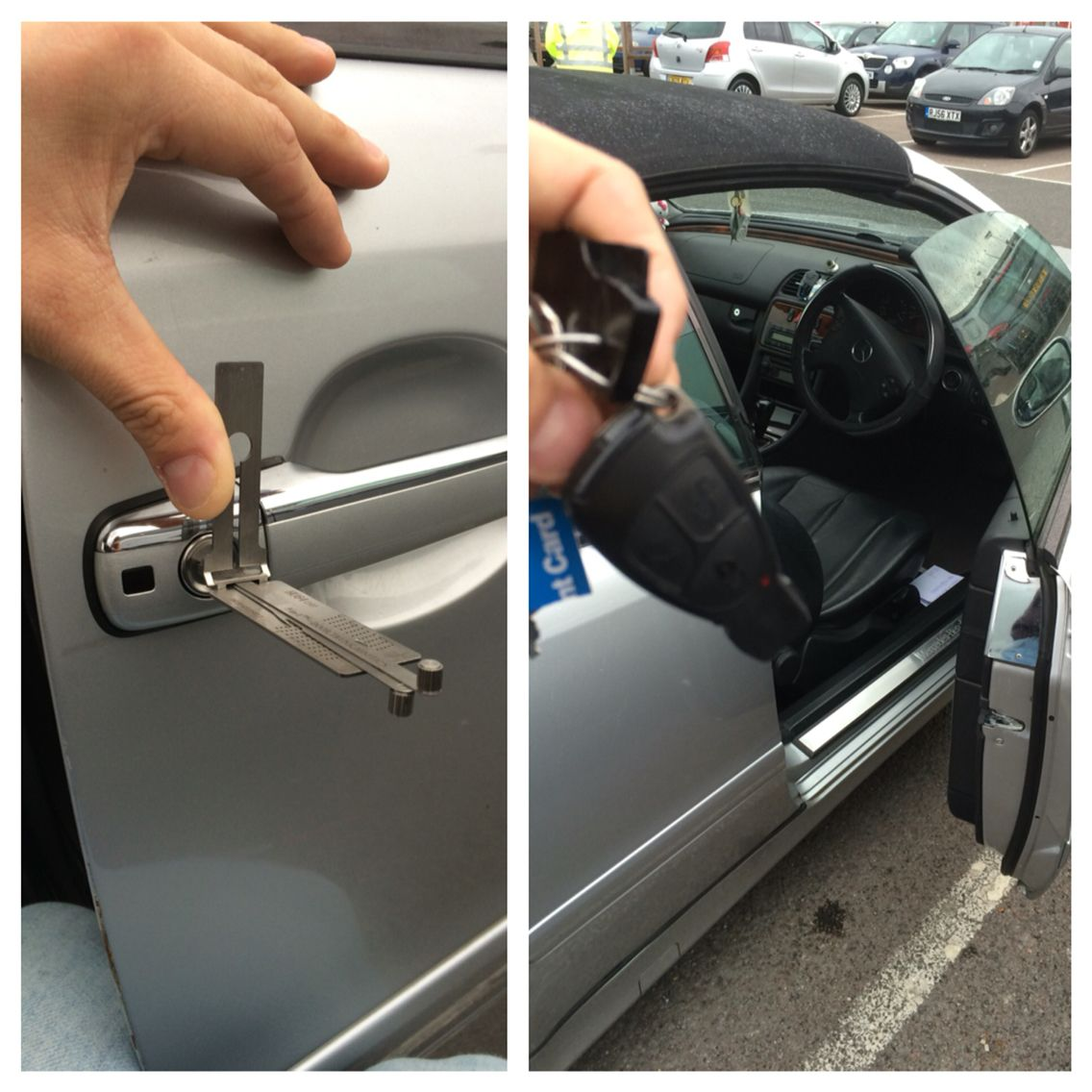 Busy Day Toda!, Alfa Romeo Keys Locked In Boot, Then Honda