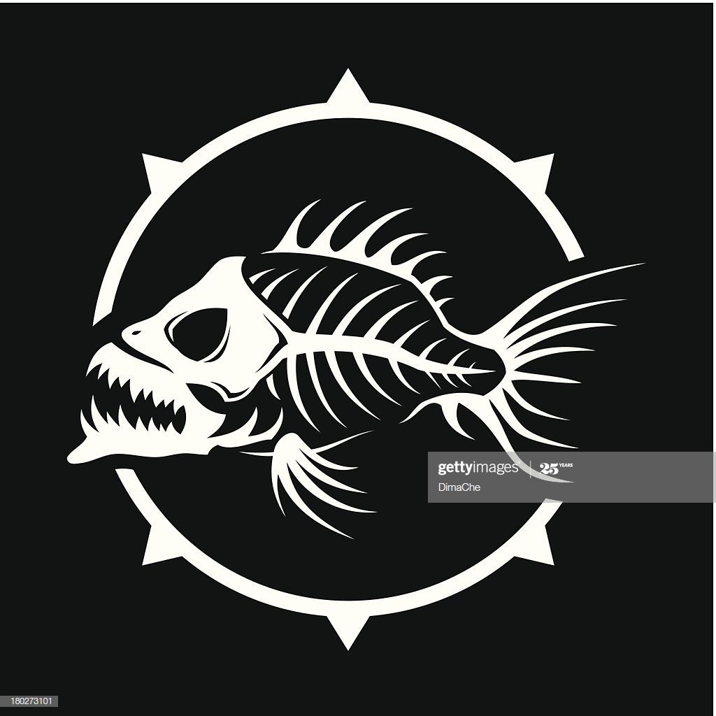 Dead Fish Skeleton High Resolution Png File Is Also Added Fish Illustration Fish Vector Dead Fish